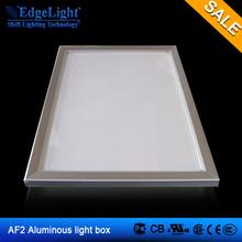 Edgelight AF2 aluminium photo frame led lighting box