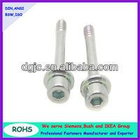 hex socket head captive washer cap screw