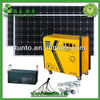 200AH380W12V DC/AC solar power supply system,off grid solar system for home