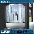 Hs-sr001 ducha de vapor cabina de sala/de masaje de ducha de vapor sala/1 persona sala de vapor hs-sr001
