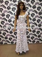 Manufacturer of handmade crochet wedding dresses