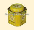 lindo té y café de lata caja de embalaje