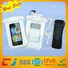 2014 new design swimming waterproof plastic bag for iphone 5