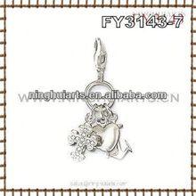 wholesale jewelry black beaded pendant and earring set shoe woman charm