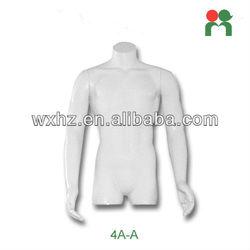 2013 Fashion fiberglass new male mannequin half-body adult male torso dolls 4A-A