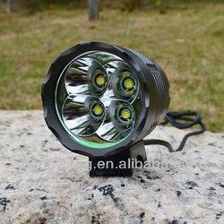 Outdoor high quality bike/bicycle headlight 4 cree T6,cree xml t6 led bicycle bike light
