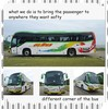 China hot selling coach bus light bus GTZ6120