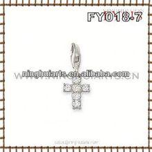 wholesale western cross pendants flowers artificial lucky eye turkey