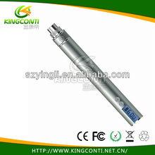 variable display with lcd battery voltage ego v cigarette,ego passthrough LED screen ego v kit