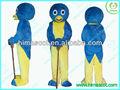 oi azul pinguim pablo backyardigans traje de passeio