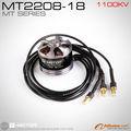 T- motor eléctrico de alta calidad de motor sin escobillas mt2208-23 kv1100