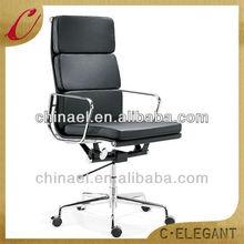 Hotsale high back aluminum PU office chair