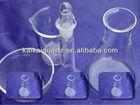 Quartz galss reagent bottle labware