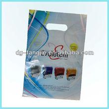 Customized design die cut handle carrier bags