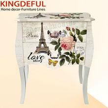 French Eiffel Design decorative bedroom Wooden Dresser