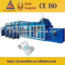 Frequency automatic high speed diapers machine