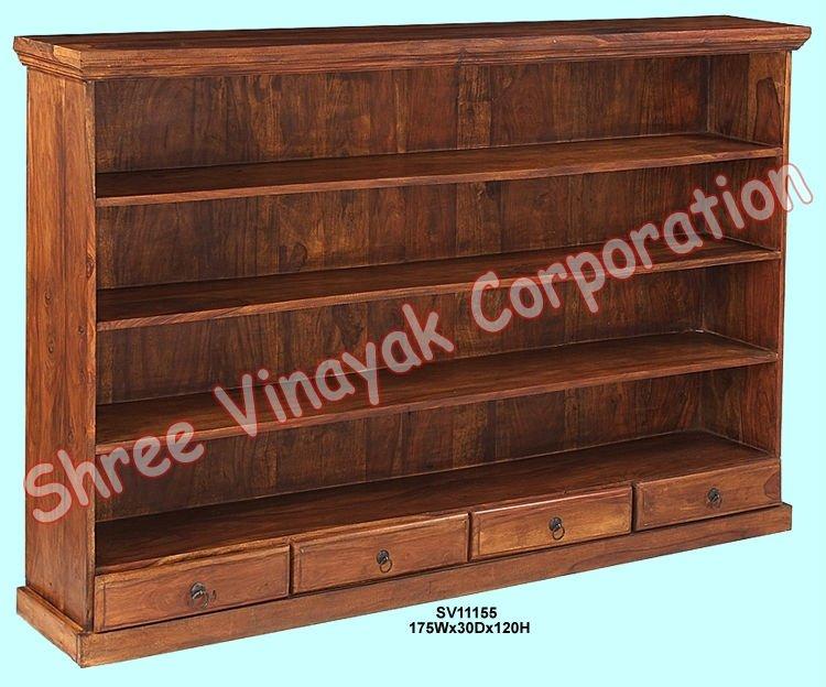 Estante para libros de madera book shelf muebles de la - Estanterias de madera para libros ...