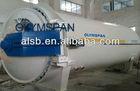 Small carbon fiber/glass pressure vessels
