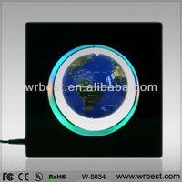 Beautiful Rounded Frame Magnetic Levitating World Globe W8033