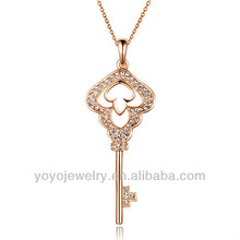 Eye-catching sports key chain pendant necklace chain