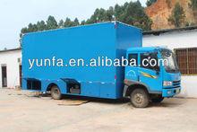 Amazing mobile cinema truck,mobile 5D cinema