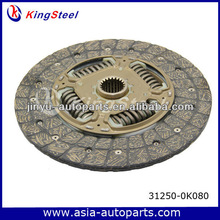 Welcome sample order clutch friction plate for Toyota cars OE 31250-0K080