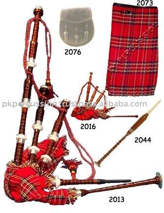 Escocés instrumento Musical