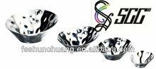 stainless steel hammered diagonal buffet bowl/food bowl/fruit bowl