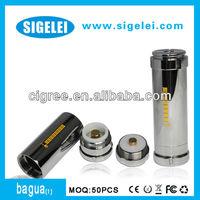 2013 sigelei latest telescope mod bagua e-cig led battery indicator