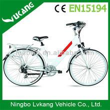 700C electric power bike with hidden battery CE EN15194 approval