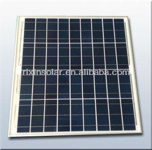 Hot sale 12V 50W import solar panels