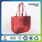 Best Sell flower reusable shopping bag folding nylon bag