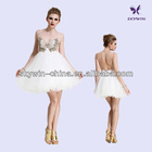 2014 sexy back open evening wedding backless dresses short