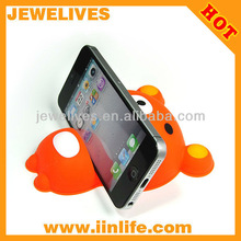 silicone smart phone stand for iphone