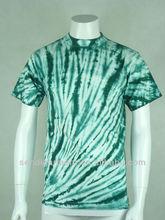 Men's 100% cotton tie dye t shirts, Hot wholesale fashion t-shirt