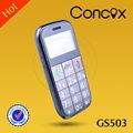 concox gs503 mini teléfono celular con el botón de sos para los ancianos