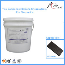 potting silicone gelatine for led display