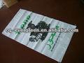 usado barato saco tecido de polipropileno para embalagem de grãos