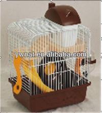 Novel wire hamster cages design, easy clean hamster cage for sale