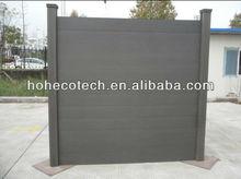 Wooden Grain Wood and Plastic Garden Fening Board/Flooring Laminate