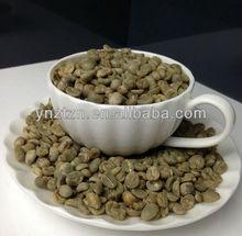 new crop arabica green bean ,screen 14#
