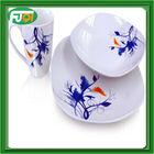 18pcs new year acrylic ceramic tableware