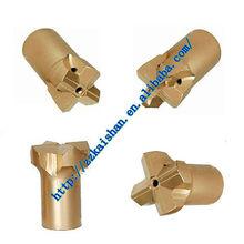 bit dia 32-127 mm cross rock drill bits / single chisel and button drilling bits / high air pressure drill bit