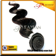 guangzhou fayuan hair product Virgin Indian Hair Products natural color 12~36 in store