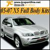 05-07 FRP X5 Body Kits Car Bumper Full Bodykits for BMW X5