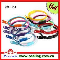 the fashion zipper bracelet,guangzhou factory