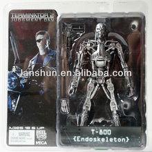 "Rare! NECA TERMINATOR 2 Judgment Day T-800 Endoskeleton 7"" Action Figure"