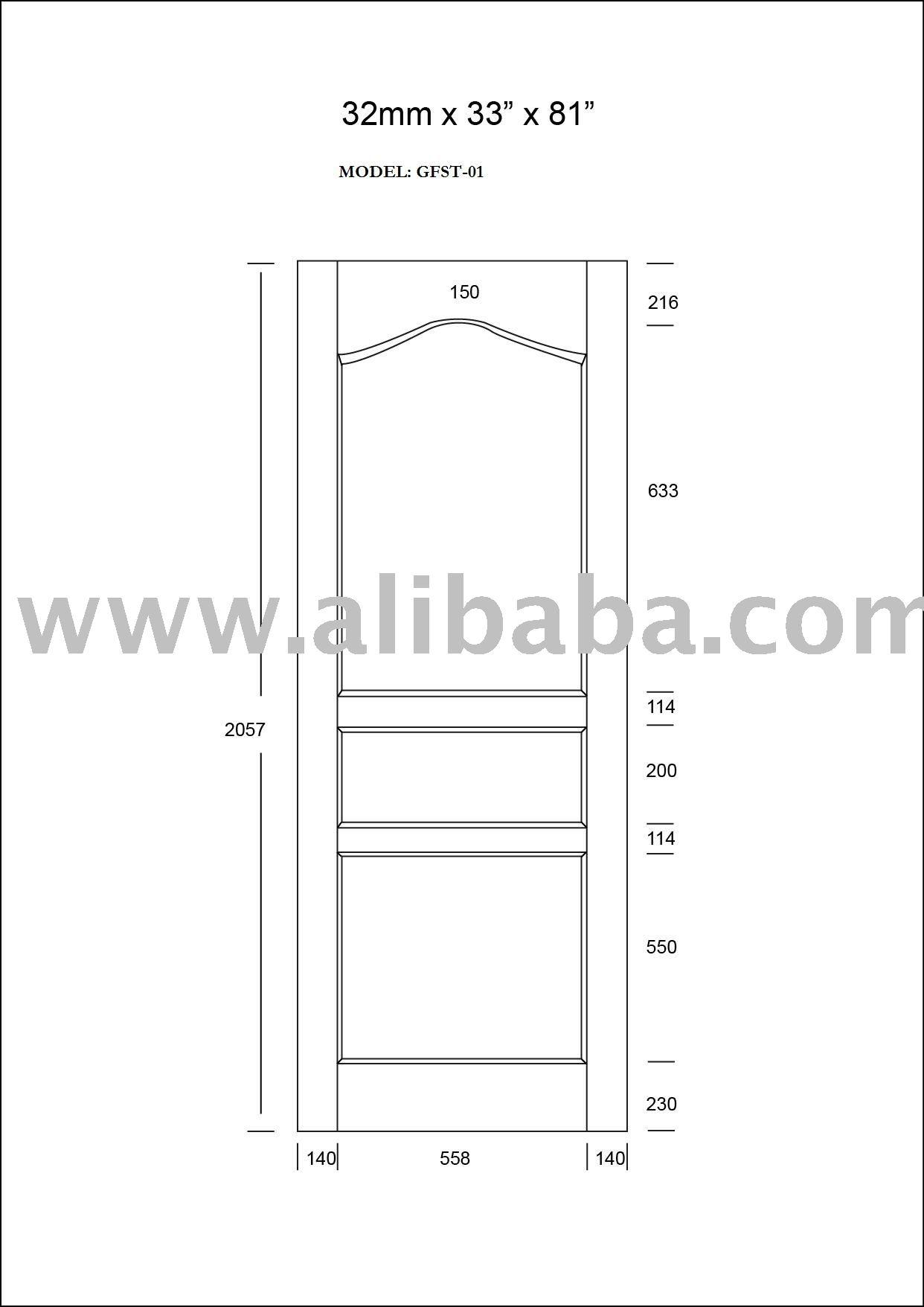 أبواب الخشب الصلب