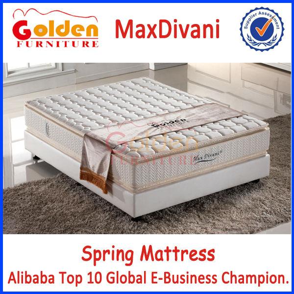 Famous Mattress Brands Maxdivani Hot Sale Mattress h8314