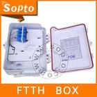 Fiber FTTH outdoor plastic enclosure box